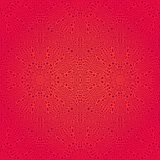 Seamlees Pattern with Brown Ornament Royalty Free Stock Photography