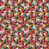 Seamlees Pattern with Symmetry Decoration Royalty Free Stock Images