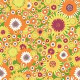 Seamles Blumen Vektor Abbildung