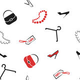 Seamles del modello di vendita della donna degli accessori Immagine Stock