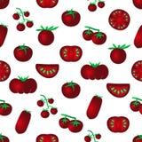 红颜色蕃茄简单的象seamles仿造eps10 库存图片