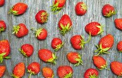 Seamles-Erdbeermuster Stockfoto