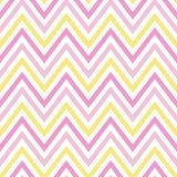 Seamles för modell för guling för vit för pastellfärgad färgrik vår för sparre rosa royaltyfri illustrationer