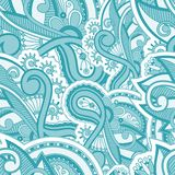 Seamles floral vector pattern Stock Photo
