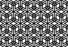 Seamles geometrisk prydnad Royaltyfria Foton