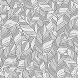 Seamles-Muster von Blättern in den Schatten Stockfoto