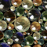 Seamles pattern of marbles Royalty Free Stock Photography