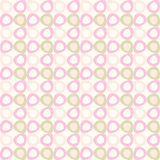 Seamles pattern with pink and olive ovals. Stock Image