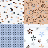 Seamles patterns Royalty Free Stock Photo