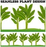 Seamles plants on the ground Royalty Free Stock Photos