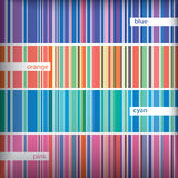 Seamles stripes pattern set. Vector. Stock Photos