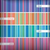 Seamles stripes pattern set. Vector. Stock Photos