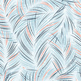 Seamles vector background with tropical palm leaves Royalty Free Stock Images