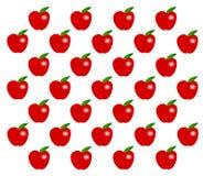 seamless äpple Royaltyfria Bilder