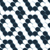 Seamless 3d ball pattern. Seamless tile pattern with 3d texture Royalty Free Stock Photography