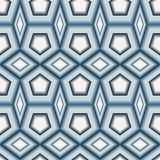 Seamless 3d tile pattern Royalty Free Stock Image