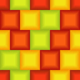 Seamless 3d tile pattern Stock Photo
