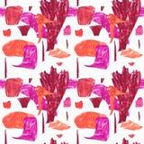 Seamless abract pattern stock illustration
