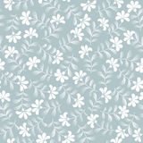 Seamless abstrac floral  background. Seamless abstrac grey floral  background Stock Photos