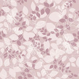 Seamless abstrac floral  background. Seamless grey abstrac floral  background Stock Photo