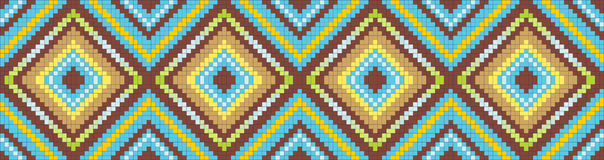 Seamless abstract african ethnic ornament. Vector illustrationVector royalty free illustration
