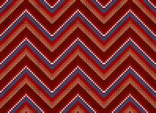 Seamless abstract african ethnic ornament. Vector illustration Stock Photos