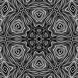 Seamless abstract african ornamental pattern Stock Photo