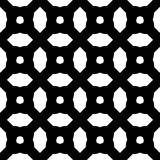Seamless abstract art black white pattern. Vector illustration stock illustration