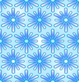 Seamless abstract backgroud in blue Royalty Free Stock Images