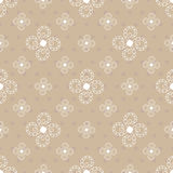 Seamless abstract background. In beige colors Royalty Free Stock Photography