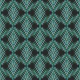 Seamless abstract background. With rhombs looking like flames Stock Image