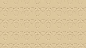 Seamless abstract background in beige tones with scribbles. Seamless abstract background with ornament from repeated patterns with effect of stamping in beige Royalty Free Stock Images