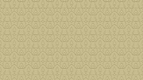 Seamless abstract background in beige tones with scribbles. Seamless abstract background with ornament from repeated patterns with effect of stamping in beige Stock Photography