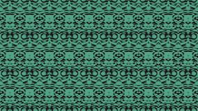 Seamless abstract background in black and green tones. Seamless abstract background with ornament from repeated patterns with scribbles in black and green tones vector illustration