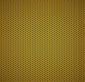 Seamless abstract background. Seamless abstract black shapes on the gold background Royalty Free Illustration
