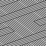 Seamless abstract background. Black and white stripes. overlappi. Seamless abstract background. Black and white stripes Royalty Free Stock Image