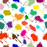 Seamless abstract background from blots. Seamless abstract preparation for the designer Stock Photos