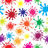 Seamless abstract background from blots. Seamless abstract preparation for the designer Royalty Free Stock Images