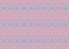 Seamless abstract background in blue and pink tones. Seamless abstract background with ornament from repeated patterns in blue and pink tones Royalty Free Stock Images