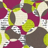 Abstract background with circles. Stock Images
