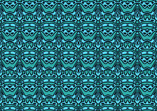 Seamless abstract background in cyan and green tones. Seamless abstract backdrop with ornament  from repeated patterns in cyan and green tones, colorful Stock Photography