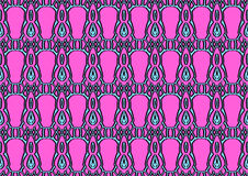 Seamless abstract background in cyan and pink tones Royalty Free Stock Photo