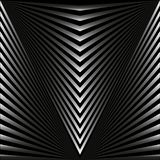 Seamless abstract background in the form of gray rays and stripes stock illustration