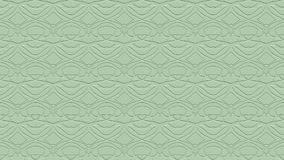 Seamless abstract background in green tones with scribbles. Seamless abstract background with ornament from repeated patterns with effect of stamping in green stock illustration