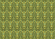 Seamless abstract background in green and yellow tones. Seamless abstract backdrop with ornament from repeated patterns in green and yellow tones, colorful royalty free illustration