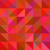 Seamless abstract background illustration. Seamless abstract modern geometric red background vector illustration Stock Photo