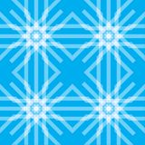 Seamless abstract background with line. Seamless blue abstract background with transparent white grid Stock Illustration
