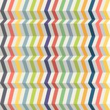 Seamless abstract background made from colored strips with the illusion of volume Royalty Free Stock Image