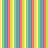 Seamless abstract background made of colorful lines. Vector Royalty Free Stock Image