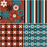 Seamless abstract background pattern Stock Photos